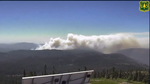 Fork Fire updates: Blaze grows in Eldorado National Forest, 'minimal resources' available