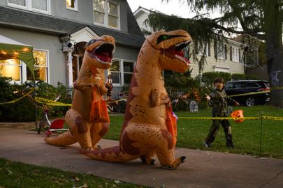 See the trick or treating on Halloween in East Sacramento