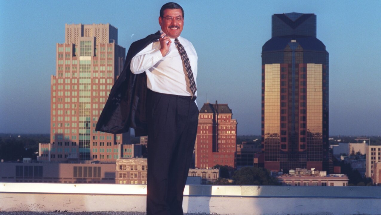 You live in a better Sacramento because of him.  Rest in peace, Mayor Joe Serna