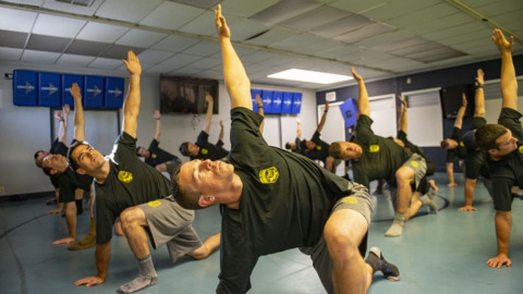 'We're evolving into a healthier firefighter.' How Cal Fire is adding yoga to its training regimen