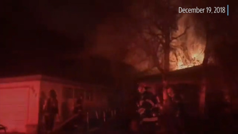 Fire before Christmas displaces Pocket-area family