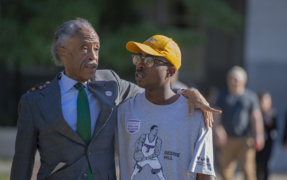 Rev. Al Sharpton addresses Stephon Clark and the NFL national anthem policy