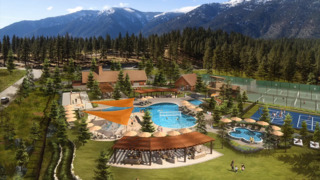 A look at a new Lake Tahoe luxury housing development