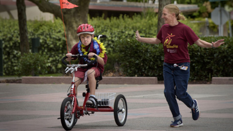 'It makes kids super happy.' Watch 'BikeFit' graduation at Shriners Hospital