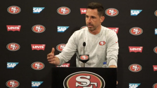 Coach Kyle Shanahan breaks down 49ers progress after second day of OTAs