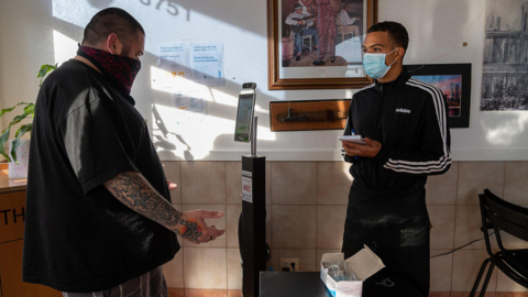 See ClearScan temperature scanners in action at Sacramento businesses