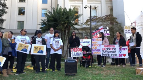 Coalition urges Newsom to stop deportation of Cambodian refugees with criminal records