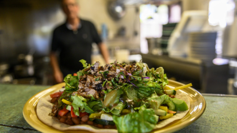 'You Gotta Try This' Sonoran Salad at Nopalitos
