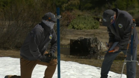 Season's last snowpack survey confirms dry winter. California inching toward statewide drought