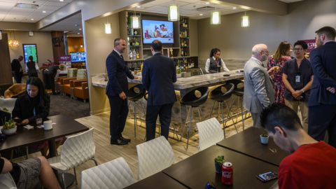 Here's what the Sacramento airport's fancy new lounges look like