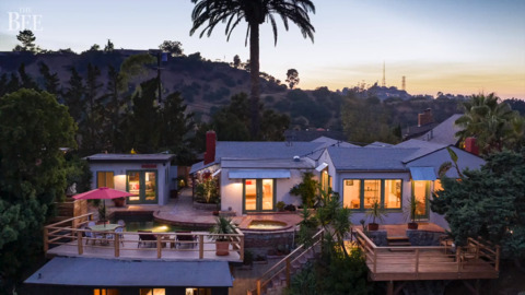 Cozy compound of Corbin Bernsen with Hollywood history hits market for $2 million. See it