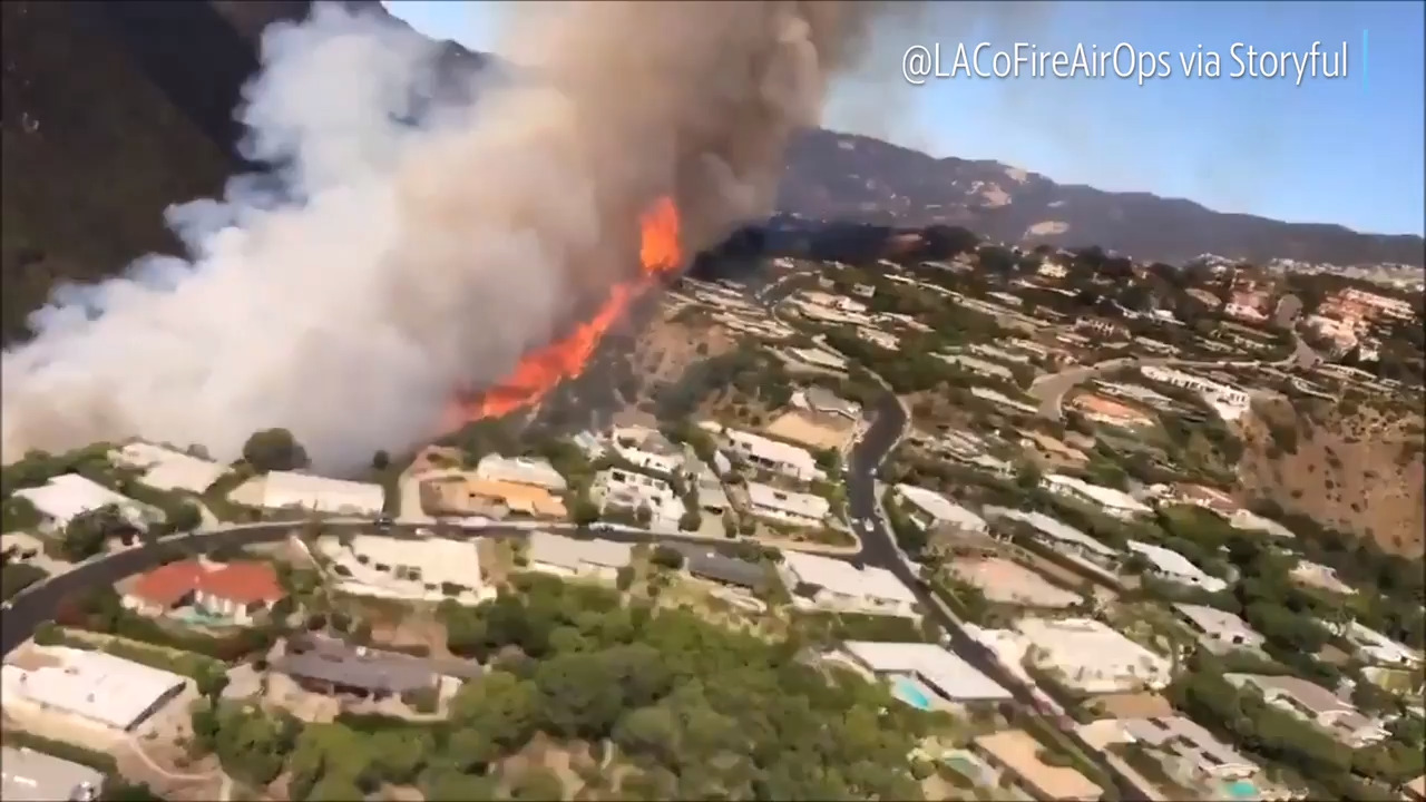 Southern California fires rage in LA and San Bernardino