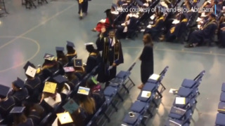 The moment captured: 15-year-old graduates from UC Davis with biomedical engineering degree