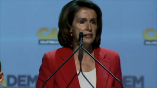 'Historic victory is within our grasp,' Nancy Pelosi tells California Democratic Party convention