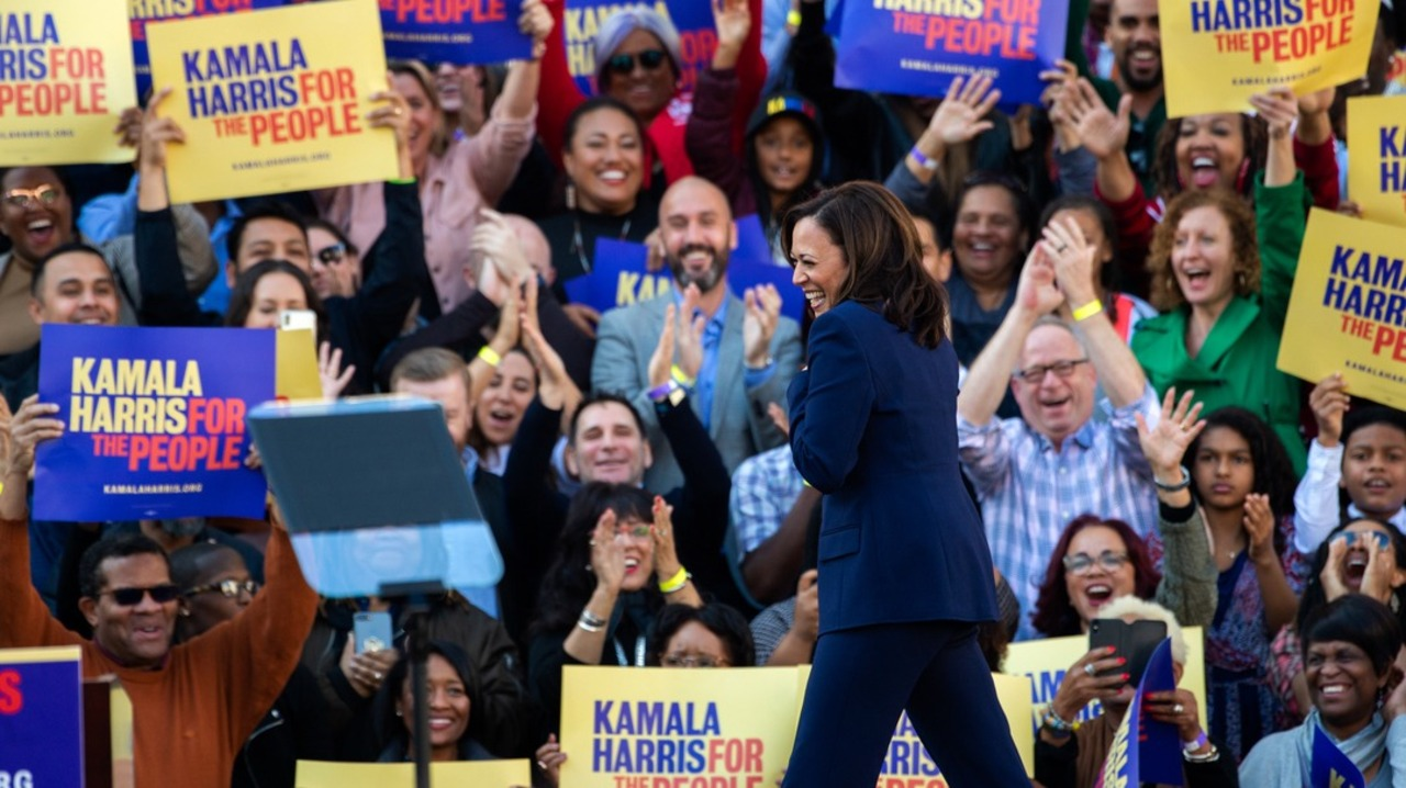 On Israel, Kamala Harris breaks with liberal 2020 pack