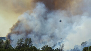 County Fire burns at a rate of 1,000 acres per hour