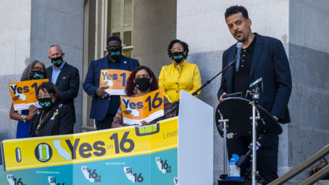 Californians have an opportunity to reverse Prop 209 and reinstate Affirmative Action