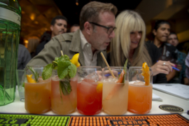 They want their cocktail on Golden 1 Center's list. See local bartenders compete