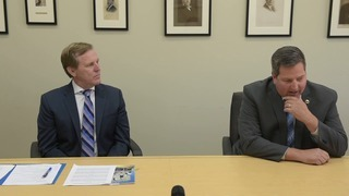 Sheriff Scott Jones and candidate Milo Fitch spar over ethics accusations
