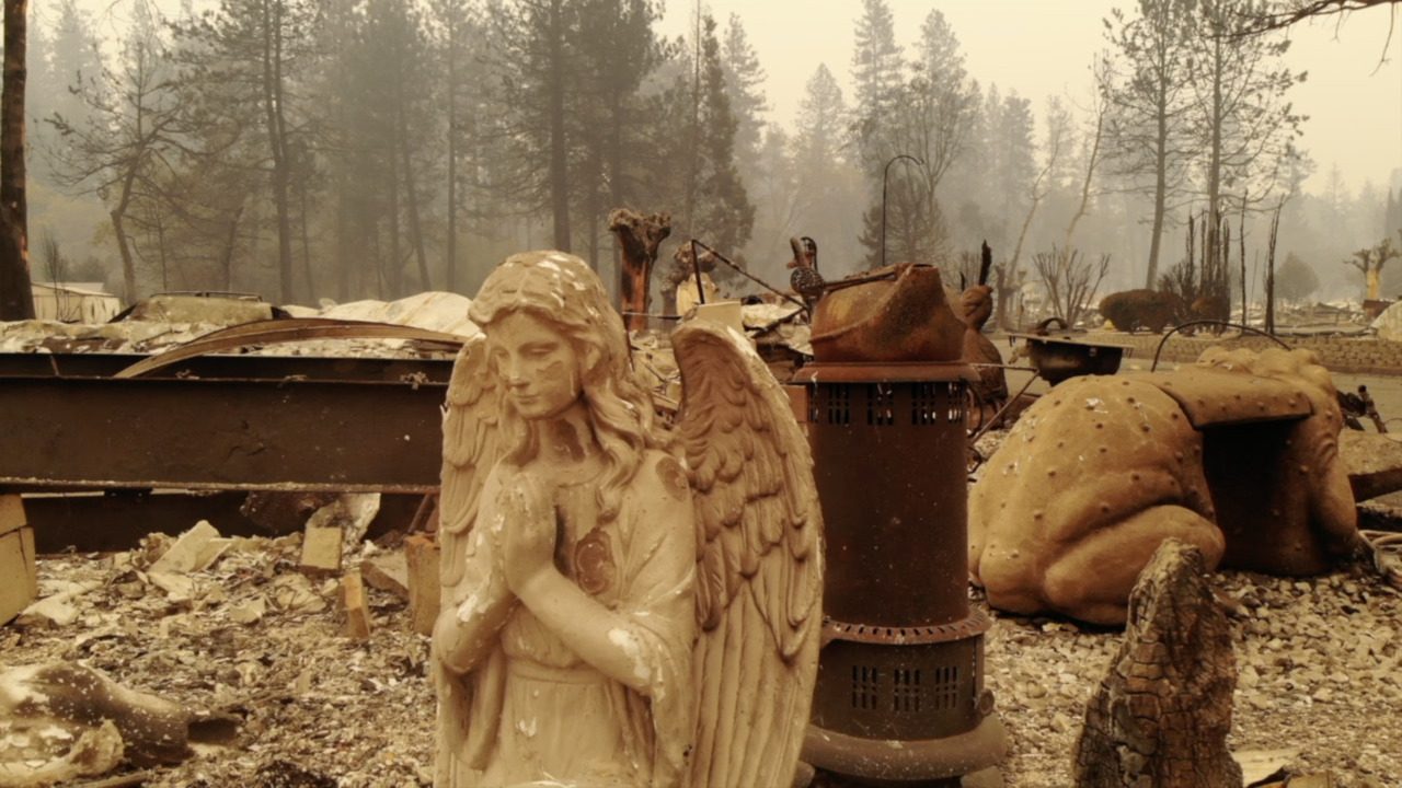 What it was like to report on the Camp Fire, California's