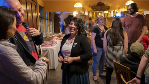 Sacramento council candidate Katie Valenzuela 'excited' as early results swing her way