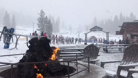 Power outages and 'intense mountain snow showers': Winter storm continues to hit region