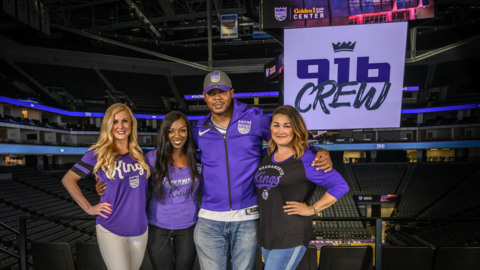 First, the Kings changed their dance team to a coed group. Now they're making moves