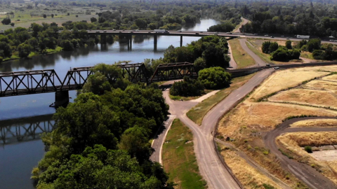 Long-awaited river trail linking downtown to East Sacramento is adding another key piece