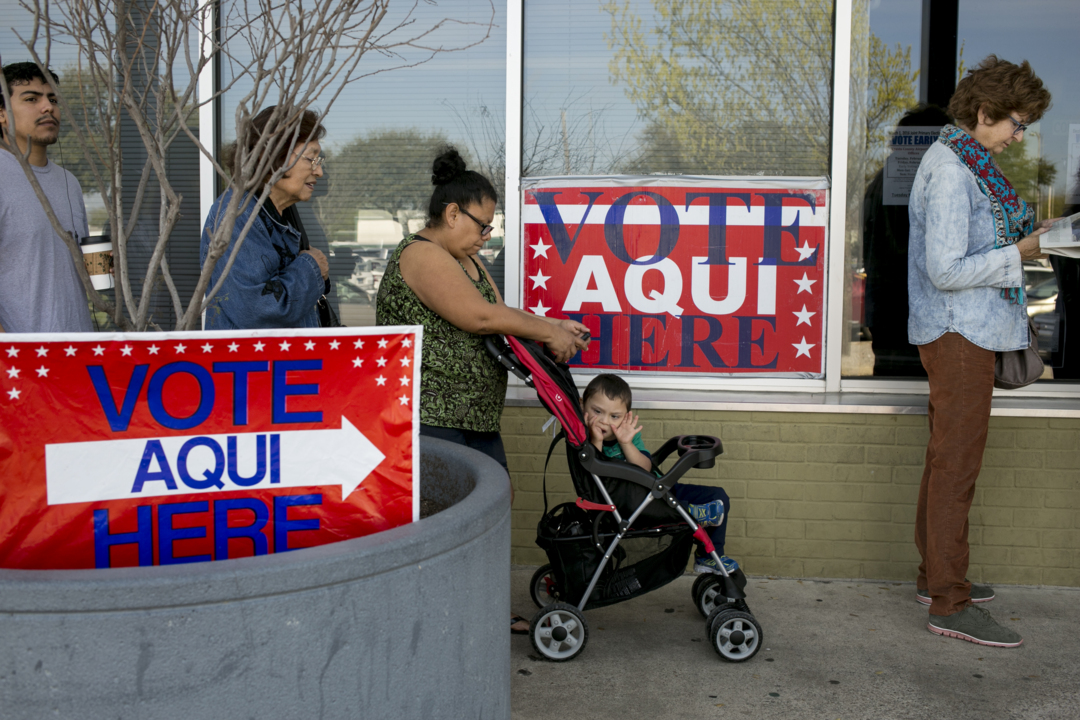 Census: Black, Latino, younger voters made large gains in the 2018 midterms