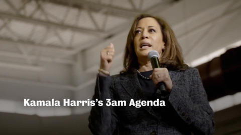 Kamala Harris becomes first major candidate with TV ad as she debuts '3 a.m. agenda'