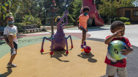 Fairytale Town offers socially distant family fun with frisbee and soccer golf
