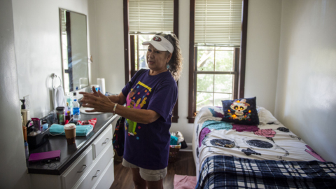 Retired state worker describes how she became homeless, and what happened next