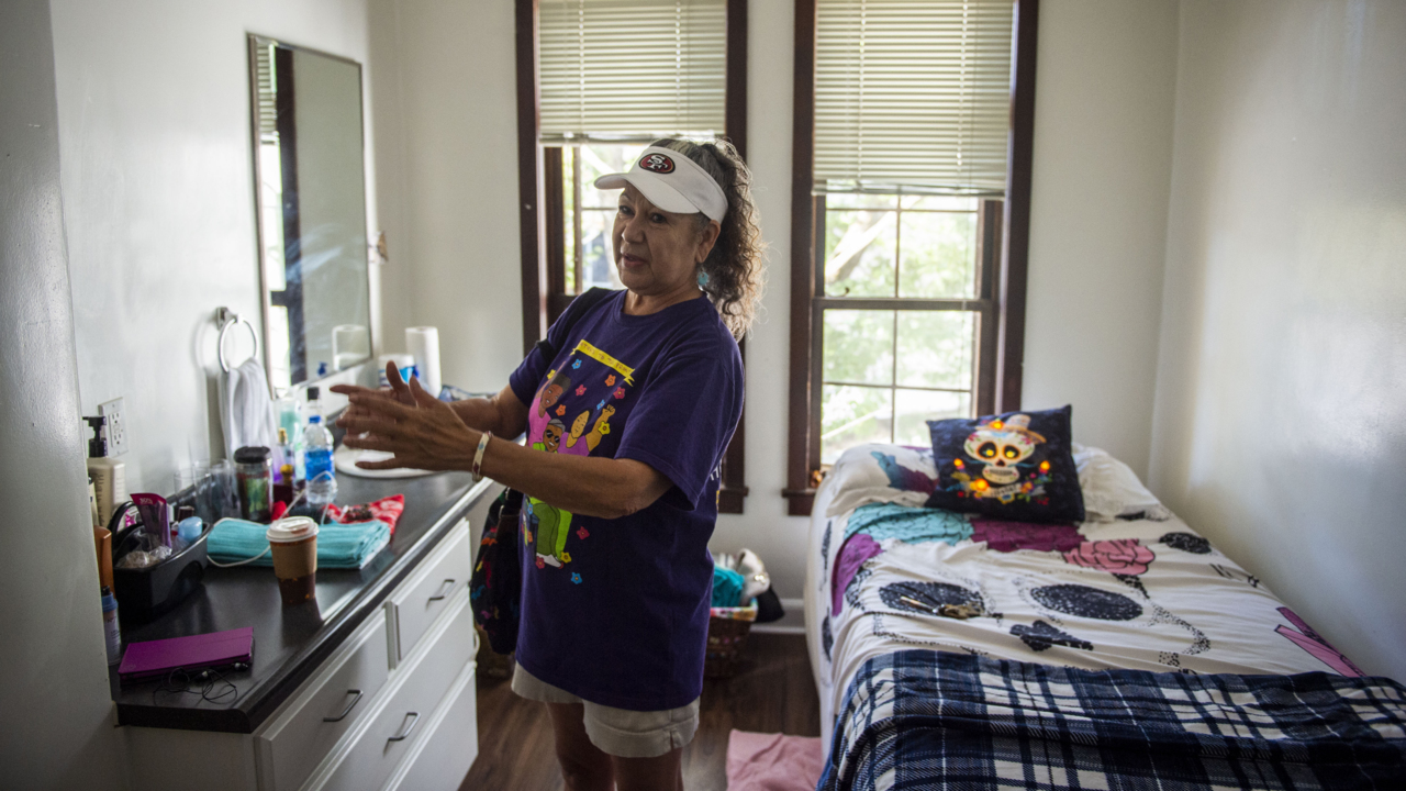 Sacramento rent hike led state worker retiree to become homeless. Now she's a success story
