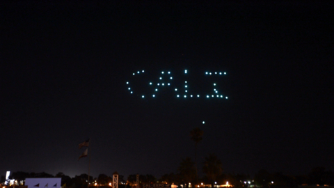See drones fall from sky during State Fair light show debut