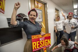 Union group calls for Cristina Garcia to resign from Assembly