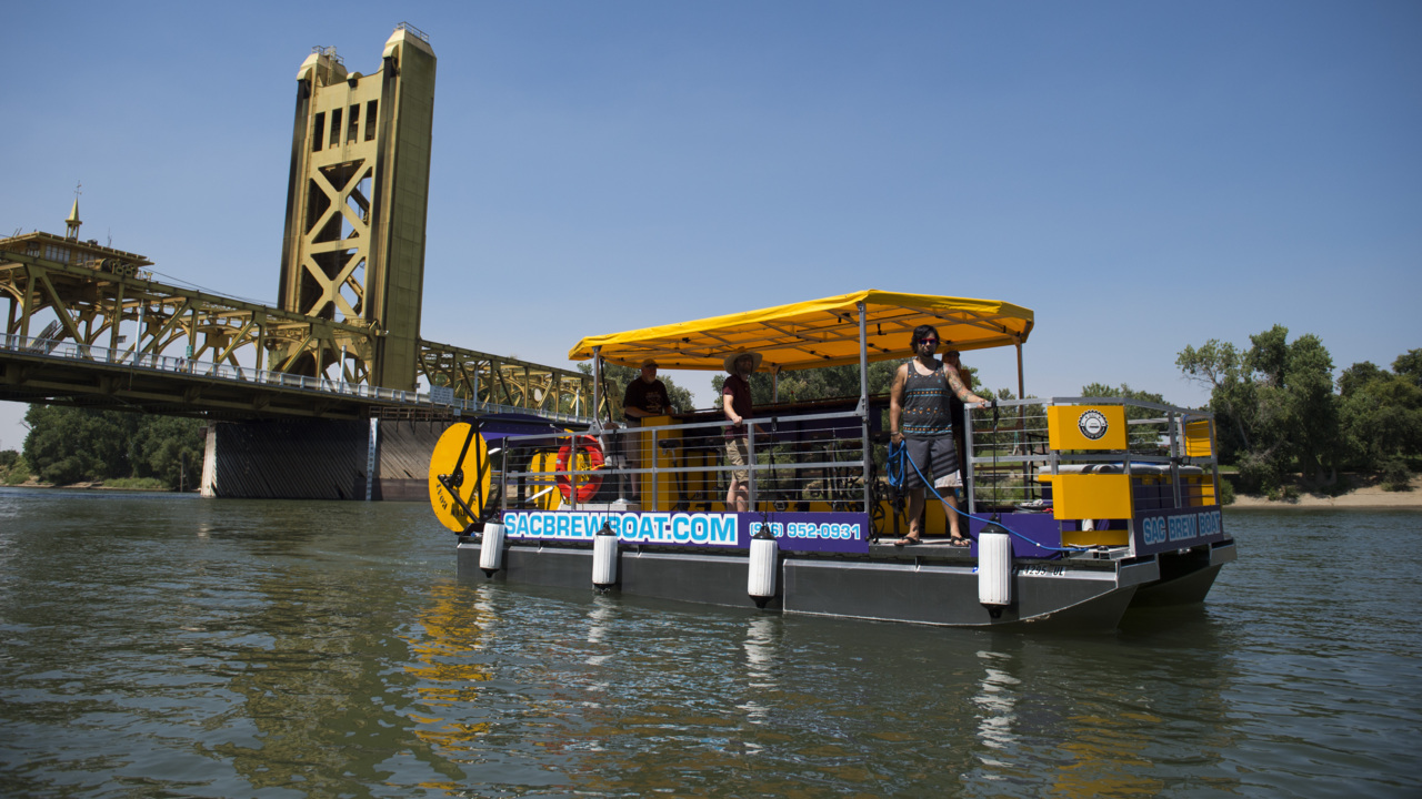 Sac Brew Boat launches its river tours