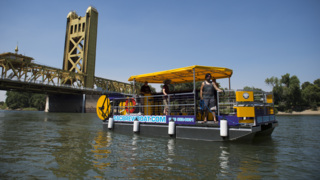 Take a ride on the Sac Brew Boat, the newest way to enjoy the Sacramento River