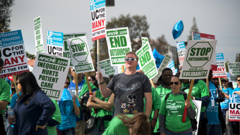 Workers to strike over outsourcing at UC hospitals and campuses. What you need to know