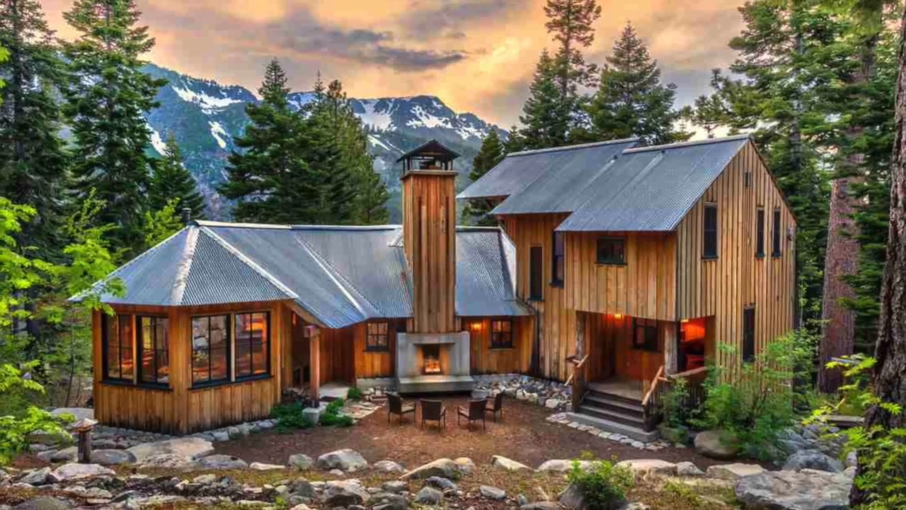 Tahoe retreat on shores of Fallen Leaf Lake fits with its environment, selling for $4.7 million