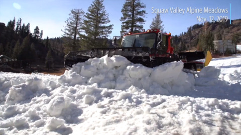Lake Tahoe ski resorts ready to open. See $9 million snowmaking investment at work