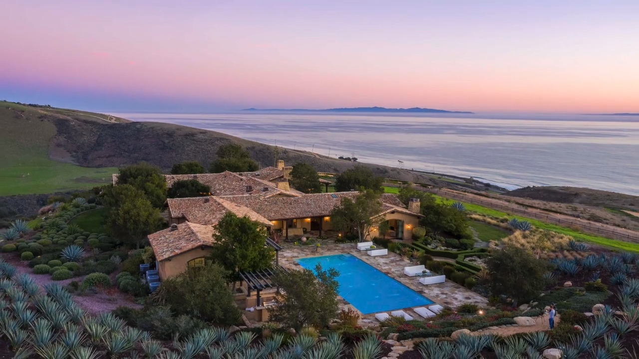 See the Santa Barbara ranch with stunning ocean views and history for sale at $110 million