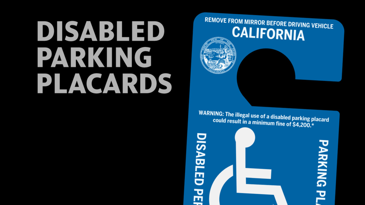 How California will crack down on disabled parking placard abuse