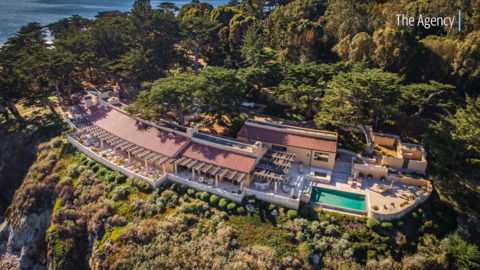 As Mickelson wins Pebble Beach, mansion above the golf course hits market at $34.9 million
