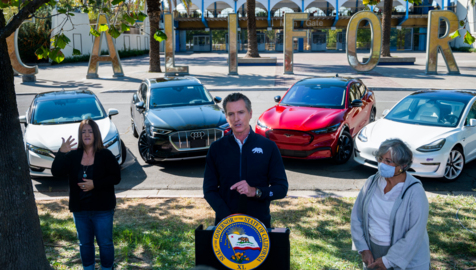 Trump's EPA asks Newsom to rethink gas car ban: 'You can't even keep the lights on today'