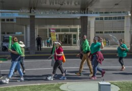 Here's why workers are striking for a 3rd day at UC Davis Medical Center