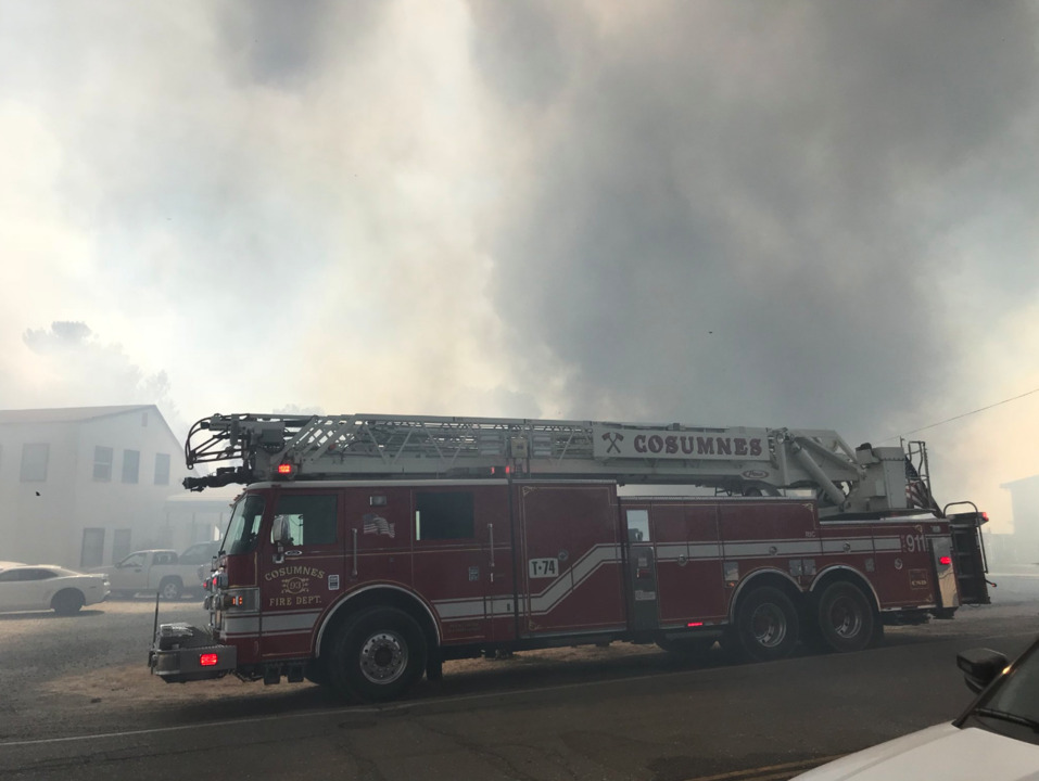 Highway 99 re-opens after grass fire in Galt halted traffic | The