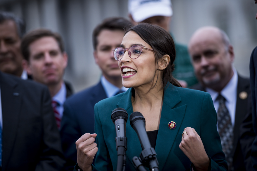 What is Rep. Ocasio-Cortez doing in Kings Canyon National Park?