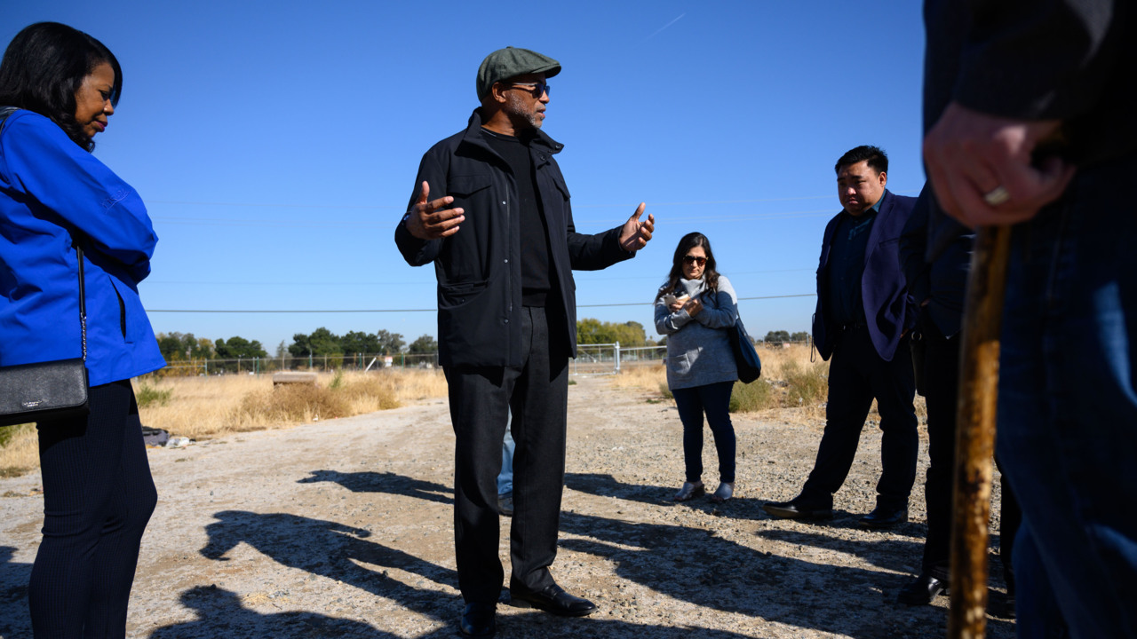 Exclusive: Here's the Sacramento site that could house 700 people in tents, cabins, tiny homes
