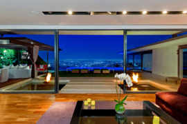 Check out awesome Hollywood Hills West homes of Usher, Matthew Perry