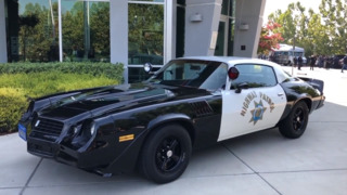 Check out this restored 1978 Camaro used as a CHP chase car